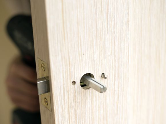 C W Joinery Walsall Hanging Wood Internal Door Image