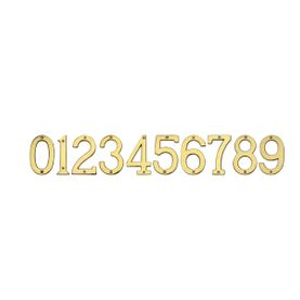 C W Joinery Door Furniture Accessories Numerals