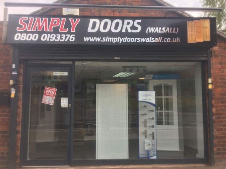 simply doors shop front