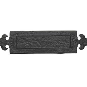 C W Joinery Door Furniture Accessories Tudor Letterplate Fleur