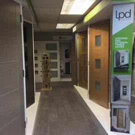 showroom of simply doors cannock