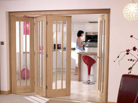 C W Joinery Walsall Wood Internal Bi-Fold Doors Image