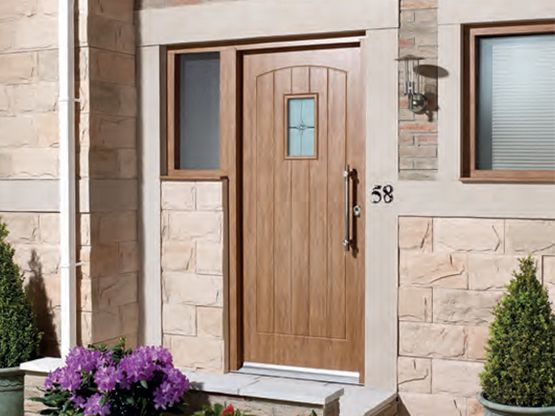 C W Joinery Walsall Wood Front External Door Image